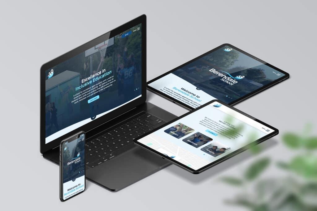 Berendale School - Website - Beyond Web