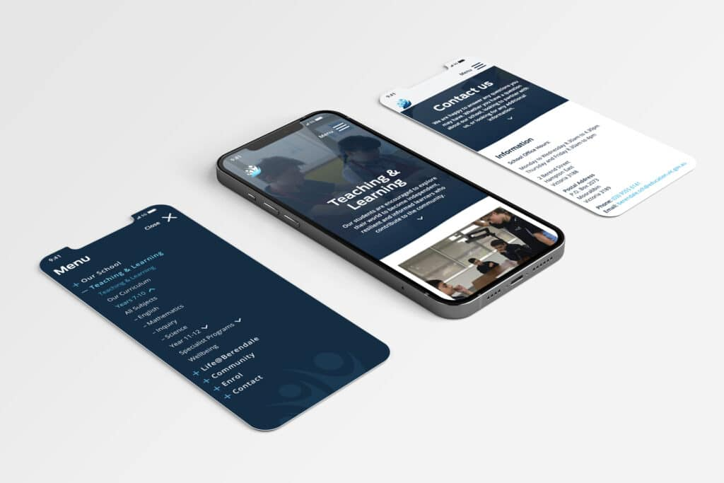 Berendale School - Website Design & Development by Beyond Web