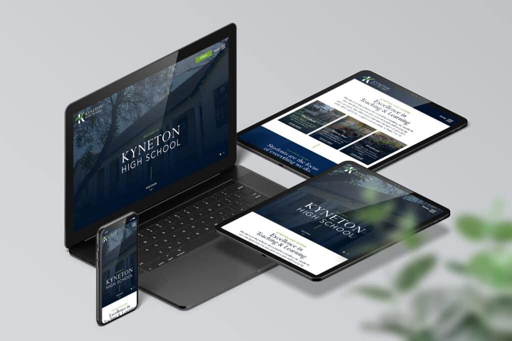Kyneton High School - Website Design & Development by Beyond Web