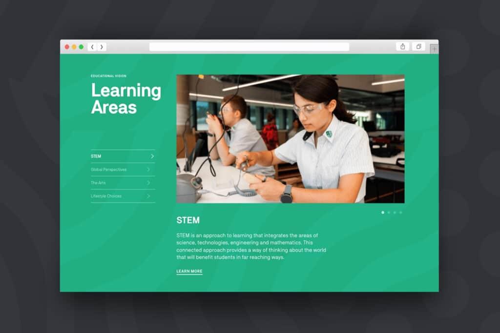 Adelaide Botanic High School - Website Design & Development by Beyond Web